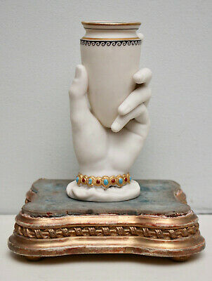 A Fine c19th ROYAL WORCESTER Hand Vase by Hadley, Losenge Mark