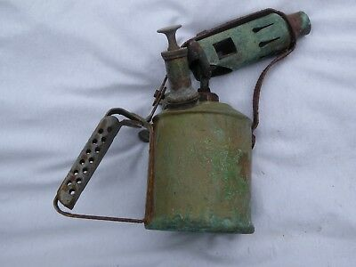Two vintage blow torches