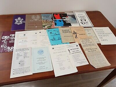 1960s ADELAIDE FESTIVAL OF ARTS Bundle Opera Theatre Music Exhibit PROGRAMMES
