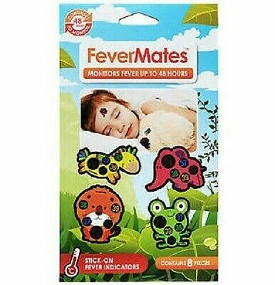 Fevermates - Stick On Fever Indicators - Monitors Fever Up To 48 Hours