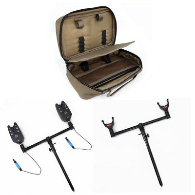 Carp Fishing Set with Fishing Bite Alarms Buzz Bars Bank Sticks Fishing Swingers