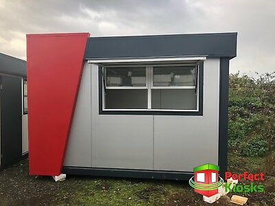 Coffee Shop 360 x 240cm Temporary Modular Building, Portable Cabin 4950 +VAT
