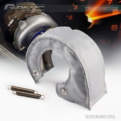 For T04B GT30 GT32 T4 Turbo Blanket Heat Shield Turbocharger Cover Wrap silver
