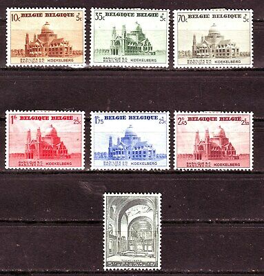 Belgium   Scott #B214-20   Unused