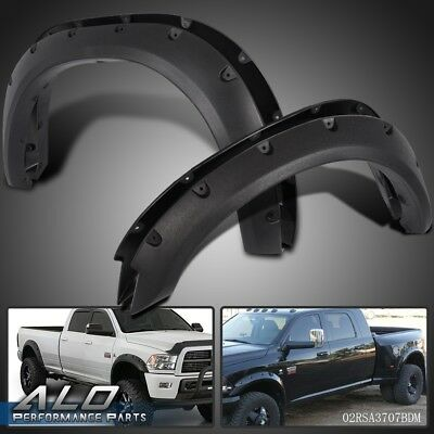 For Dodge Ram 2500//3500 models only Pocket Rivet Bolt On Fender Flares 10-2017