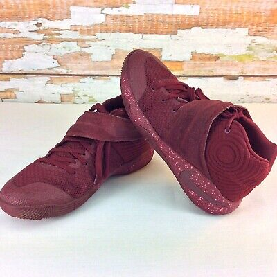 100% authentic 60dce 34de7 NIKE KYRIE 2 Red Velvet Basketball Shoes Boys Youth Size 5.5 Dark Red  826673-600