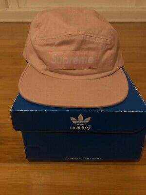 893fa47fb2d BRAND NEW SUPREME Washed Chino Twill Camp Cap Pink SS17 -  79.99 ...