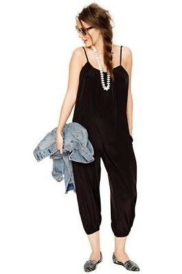 Hatch Collection Maternity Black The Jumper Jumpsuit One Size