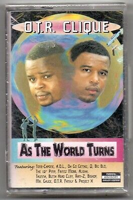 O.T.R. CLIQUE As The World Turns Rap Tape Sealed Gangsta G-Funk Ohio Pimps 1998