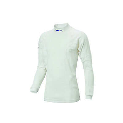 Sparco SOFT TOUCH RW-5 Longsleeve Top, white (FIA homologation) - Genuine - S