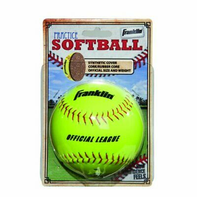 80205390f2d FRANKLIN SPORTS SYNTHETIC Cover Practice Softball -  9.29