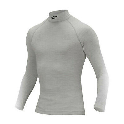 Alpinestars ZX Longsleeve Top Grey (with FIA homologation) - Genuine - 7