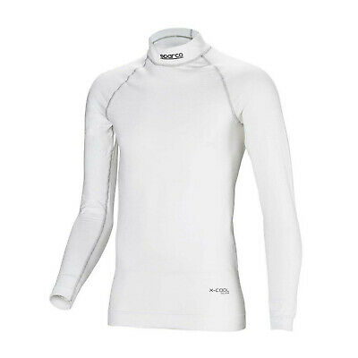 Sparco SHIELD RW-9 longsleeve top white (with FIA homologation) - Genuine - XS/S