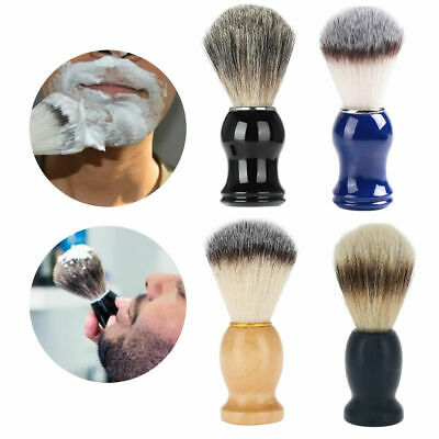 Fashion Men Synthetic Hair Shaving Brush with Comfort Handle Barber Tools