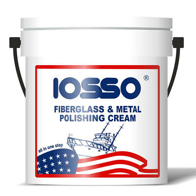Iosso Fiberglass & Metal Polishing Cream 2000 Ml