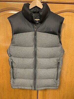 0d142b5a1a THE NORTH FACE Nuptse Vest II Gilet Chaleco Grey Black Small Size ...