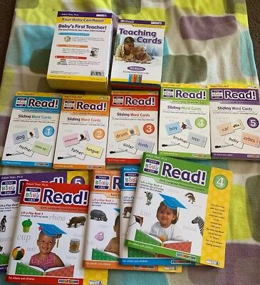 Your Baby Can Read Collection Early Childhood Development Missing DVD And Guide