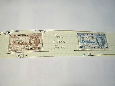BAHAMAS-USED-SCOTT#130+131+148to157+158 to 173 (28 stamps)- cv$90