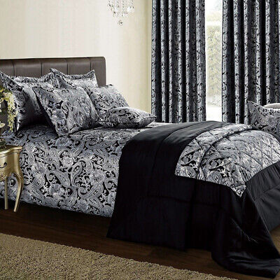 Quilted Bedspread Comforter Bedding Set  Bed Throw Single Double King Super King