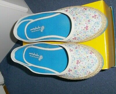 Moshulu Rosehip Ice Floral Slip-on Canvas Shoes Size 41