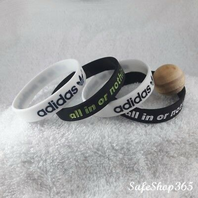 2x Silicone wristband adidas Wrist Band Sport Bracelet adidas all in Mens/Kids