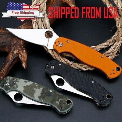 """8"""" Tactical Pocket Folding Knife Military Survival EDC Blade Open Camping"""