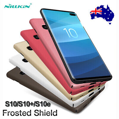 For Samsung S10 5G S10+ S10e NILLKIN Shockproof Frosted Shield Slim Case Cover