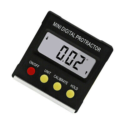 Mini Digital Inclinometer Protractor Bevel Angle Gauge Magnet Base Gracious ERW3