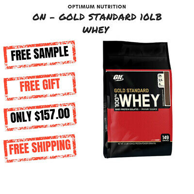 OPTIMUM NUTRITION GOLD STANDARD 100% WHEY 10LB 4.5kg | ON WHEY | WHEY PROTEIN |