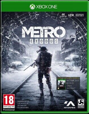 Metro Exodus Day One Edition Xbox One (SP)