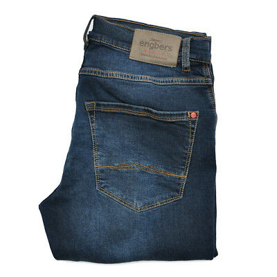 ENGBERS Jeans 26640 Hose regular Saphirblau STRETCH Denim SLIM FIT Gr. 34/34=50