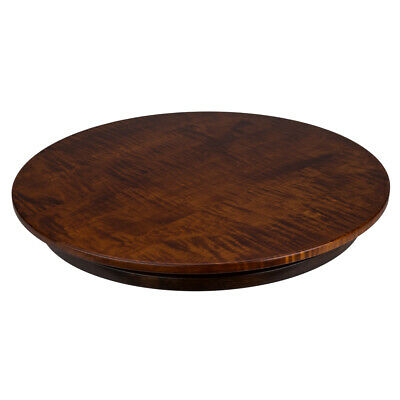 NEW Martin's Home Wares Tiger Maple Lazy Susan 52cm