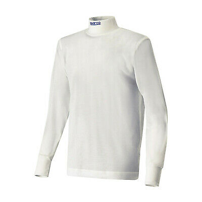 Sparco SOFT-TOUCH longsleeve t-shirt white (FIA homologation) - Genuine - S