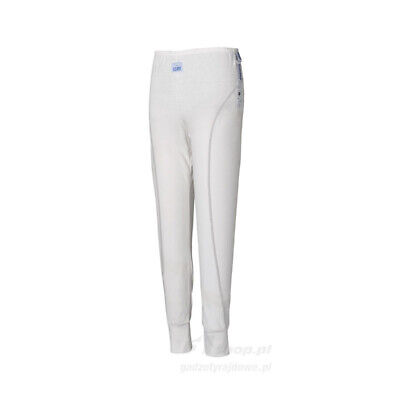 Sparco ICE X-COOL SLIM-FIT underwear pants white FIA homologation - Genuine - M