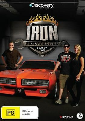Iron Resurrection : Season 2 (DVD, 2018, 3-Disc Set), NEW SEALED AUSTRALIAN