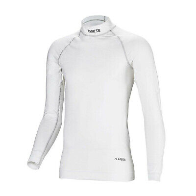 Sparco SHIELD RW-9 longsleeve top white (with FIA homologation) - Genuine - M/L