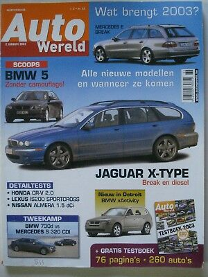 Autowereld 089 : Lexus Is200 + Honda Cr-V + Toledo Tdi