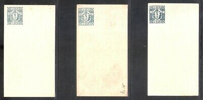 Japan 1Sen Stamped Envelope X6