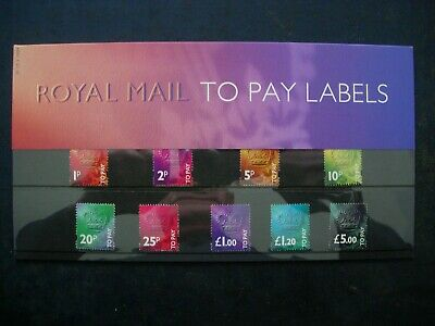 1994 Great Britain Postage Dues To Pay Royal Mail Presentation Pack No 32 V Fine