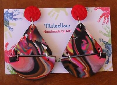 One of a kind earrings Melvellous