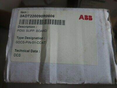 Sdcs-Pin-51-Coat 3Adt220090R0006 Measurement Card Module Abb Nib
