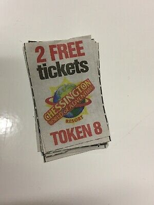 SUN SUPERDAYS CHESSINGTON PRINTED TOKEN (TOKEN 8, 16th Feb 2019) - 11 available