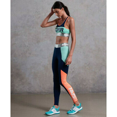Legging Superdry Spin Long Run Femme spin navy