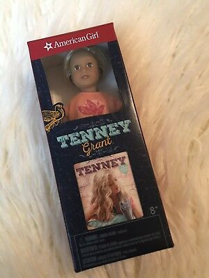 🌟 NEW American Girl TENNEY GRANT Mini Doll 6 Inches Book Dollhouse Country Song