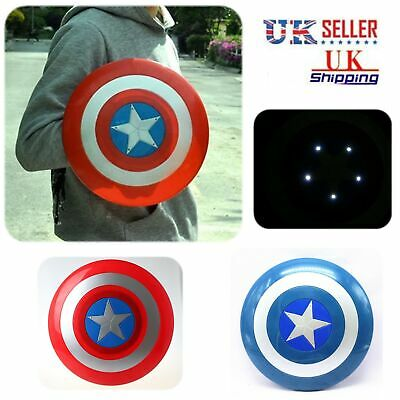 Avengers Captain America Shield with LED light & Voice Collectible KidsToy Gift