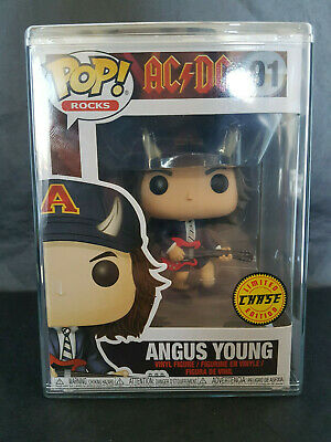 Funko Pop N° 91 Angus Young (Neuve sous protection)