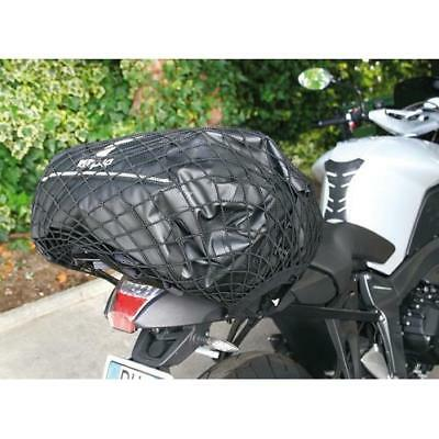 Cargo net X large black elasticated ideal fit luggage bags motorcycles touring