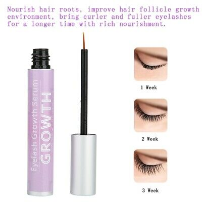 1c86aa791bf 5ml Eyelash Growth Liquid Serum Rapid Longer Fuller Thicker Lash Enhancer  Makeup