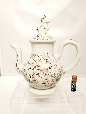 Superb 20thC Japanese Antique Famille Rose Art Deco Period Tea Pot Part of Set