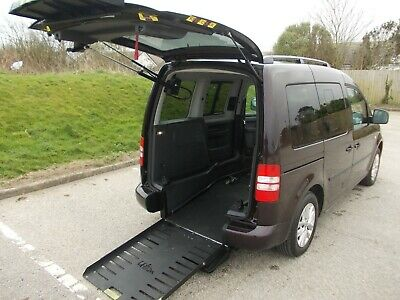 VW Caddy 1.6Tdi Auto UP-FRONT Wheelchair Passenger  2012(12)  Only 24,000 miles